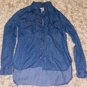 Women's chambray shirt
